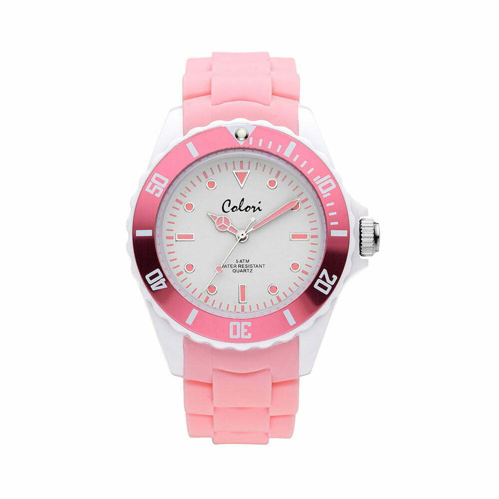 Colori Colour Combo Grey Pink 5 Col374 Welcome To Colori Watches